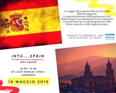 INTO SPAIN 18 maggio